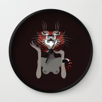 Wildlife - Tiger Wall Clock