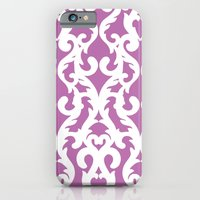 iPhone & iPod Case featuring Modern Baroque Purple by Aimee St Hill