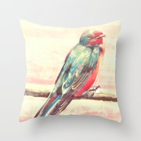 Carry Your Heart Throw Pillow