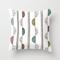 Hills and Valleys Throw Pillow