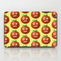 Funny Cartoon Tomato Pattern iPad Case