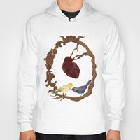 Two birds and a heart Hoody