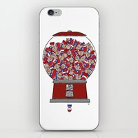 One's Not Enough iPhone & iPod Skin