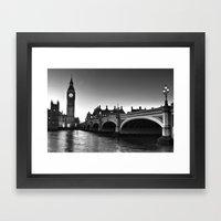 Westminster London Framed Art Print