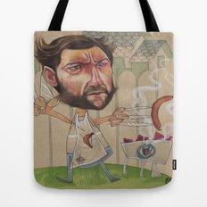 LOGAN'S BBQ Tote Bag