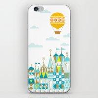 Small Magic white iPhone & iPod Skin