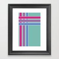 Step In Line Framed Art Print