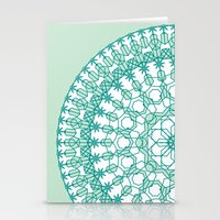 Octagon Rosette 001 | Mint Stationery Cards
