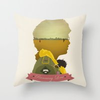 Runaway Love Throw Pillow