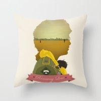 Runaway Love Throw Pillow
