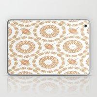 Citrine Mandala Tile Laptop & iPad Skin