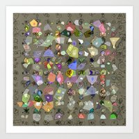 Candies from Strangers Art Print