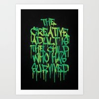 Graffiti Tag Typography!… Art Print