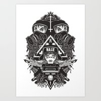 Hard Gore Art Print