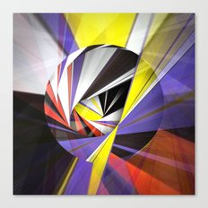Mondrian's Makeover Canvas Print