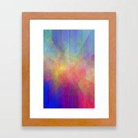 HAZY STAR Framed Art Print
