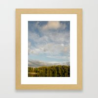 Open Heaven  Framed Art Print