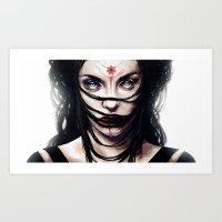 Estrie Art Print
