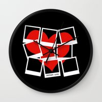Instant (Photography) Love Wall Clock