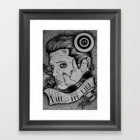 Kill The King Framed Art Print