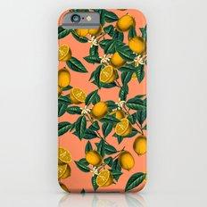 Lemon and Leaf iPhone 6 Slim Case