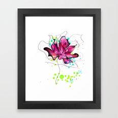 out lines Framed Art Print