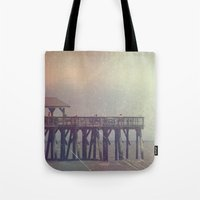 The Warm Winds Of Summer's Wreckage Tote Bag