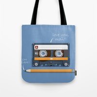 Old School Relationship Tote Bag