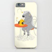 Honeybadger à Paris iPhone 6 Slim Case