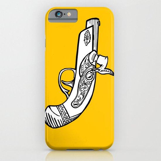 One shot Derringer, one shot gettin ya iPhone & iPod Case