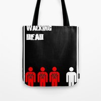 The Walking Dead Minimalist Tote Bag