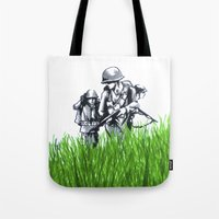 Marines Tote Bag