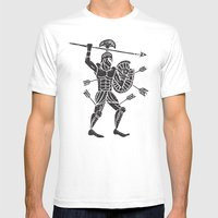 The Warrior Mens Fitted Tee White SMALL