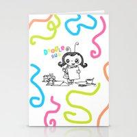 Doodle Bug Stationery Cards