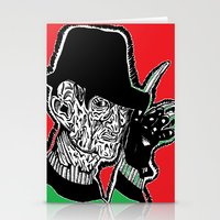 One, Two Freddys coming for you. Stationery Cards
