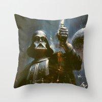 Darth Vader Vintage Throw Pillow