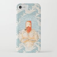 orange iPhone & iPod Cases featuring Sailor by Seaside Spirit