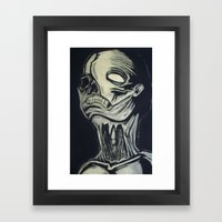 Phantom of the Undead Framed Art Print