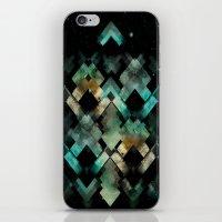 Mystic Pyramida iPhone & iPod Skin