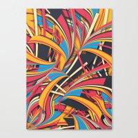 Slippery Slope Canvas Print