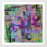 Equations involving a consequence of sequences. 02 Art Print