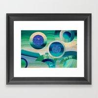 SEA-NCHRONICITY 2 Framed Art Print