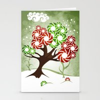 Magic Candy Tree - V2 Stationery Cards