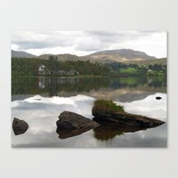 Lough Eske Reflections 2 Canvas Print