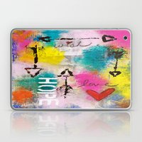 Wish Love Hope Laptop & iPad Skin
