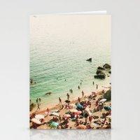La plage Stationery Cards