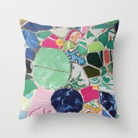 Tiling With Pattern 6 Throw Pillow