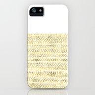 Riverside Gold iPhone (5, 5s) Slim Case
