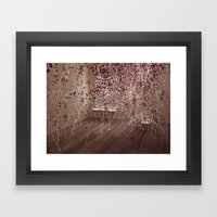 Electric Flowers Framed Art Print