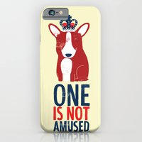 iPhone & iPod Case featuring One is not amused by Monster Riot